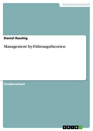 Management by-Führungstheorien