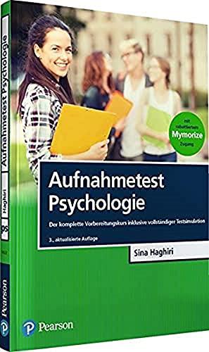 Aufnahmetest Psychologie: Der komplette Vorbereitungskurs inklusive vollständiger...
