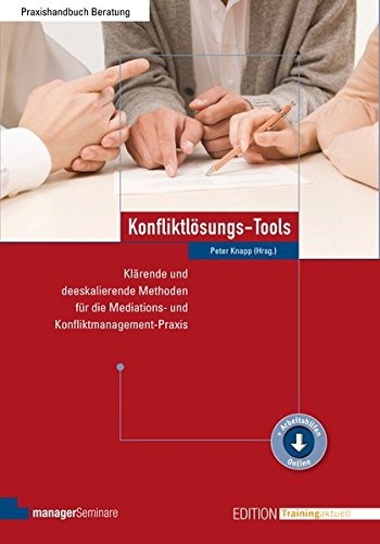 Konfliktlösungs-Tools (Edition Training aktuell)