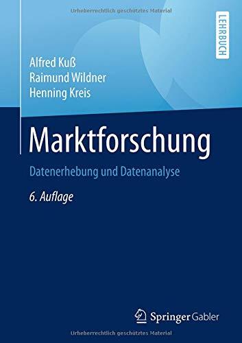 Marktforschung: Datenerhebung und Datenanalyse
