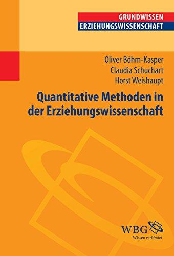 Quantitative Methoden in der Erziehungswissenschaft (Erziehungswissenschaft kompakt)