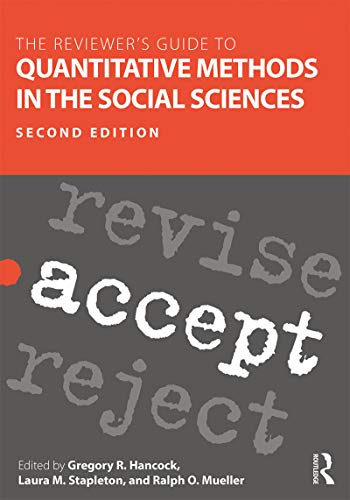 The Reviewer's Guide to Quantitative Methods in the Social Sciences (English Edition)