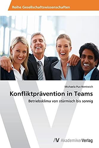 Konfliktprävention in Teams: Betriebsklima von stürmisch bis sonnig