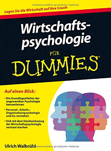 Wirtschaftspsychologie für Dummies