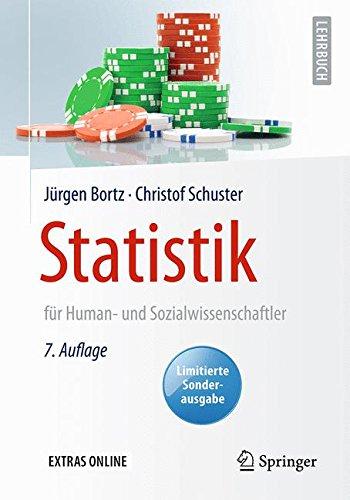 Statistik für Human- und Sozialwissenschaftler: Limitierte Sonderausgabe...