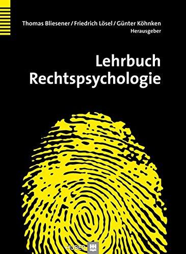 Lehrbuch Rechtspsychologie