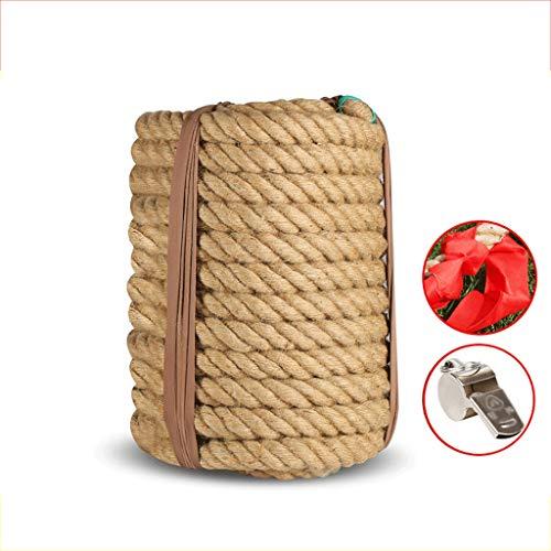 Outdoor Tauziehen Seil für Erwachsene, Krafttraining, natürliche Jute, Kletterseil,...